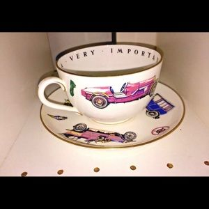Royal Worcester Accents - New Classic Cars Large Royal Worcester Cup Saucer